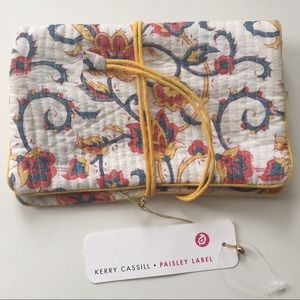 Anthropologie Kerry Cassell Jewelry Bag